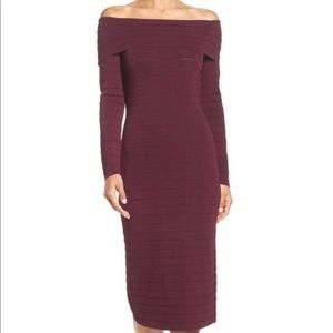 Eliza J Bandage Midi Dress